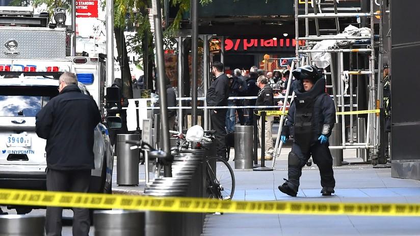 Evacúan las oficinas de CNN en Nueva York debido a una amenaza de bomba