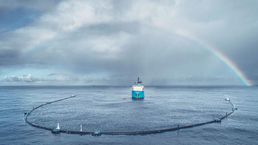 El sistema creado para limpiar la isla de basura del Pacífico no consigue los resultados esperados