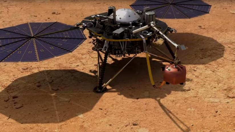 VIDEO: La NASA publica por primera vez cómo suena el viento en Marte