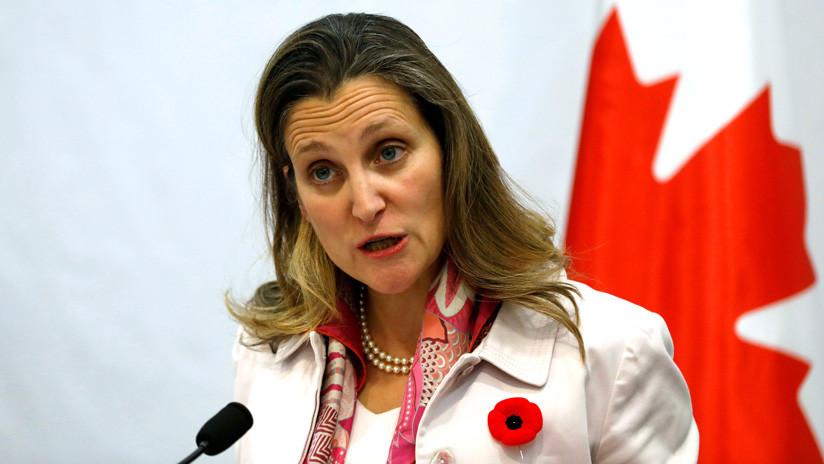 La canciller de Canadá afirma que la relación con China es importante y válida pese al caso Huawei