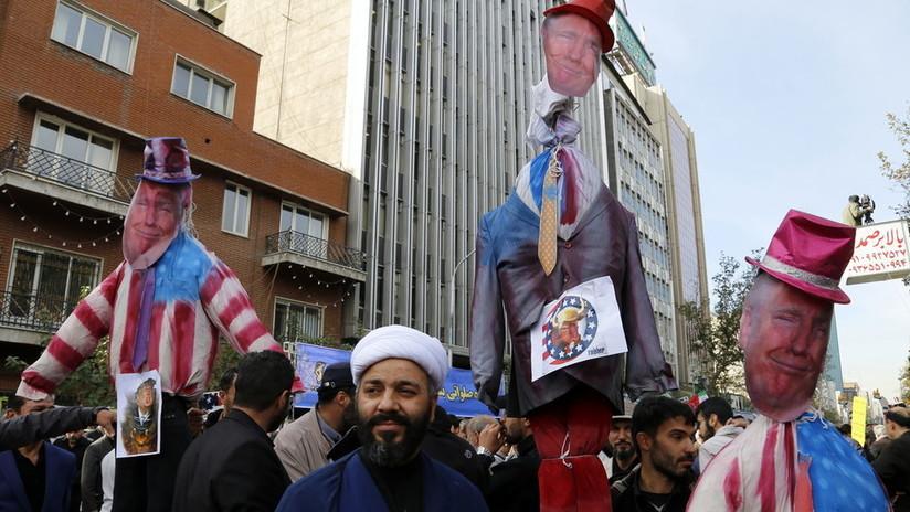 El presidente Irán acusa a Estados Unidos de