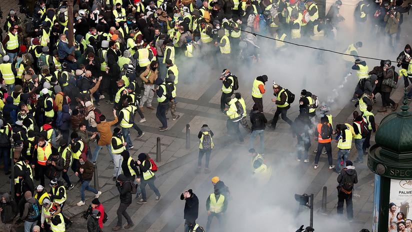 'Todos al Eliseo': Francia se sumerge en las protestas de los 'chalecos amarillos'