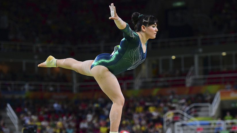 La gimnasta mexicana Alexa Moreno gana un oro en Japón