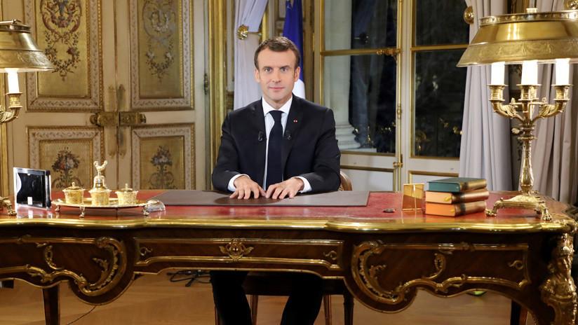 Macron decretará el estado de emergencia económica y social en Francia