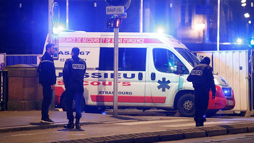 Un muerto y nueve heridos en un tiroteo registrado cerca de un mercado navideño en Estrasburgo