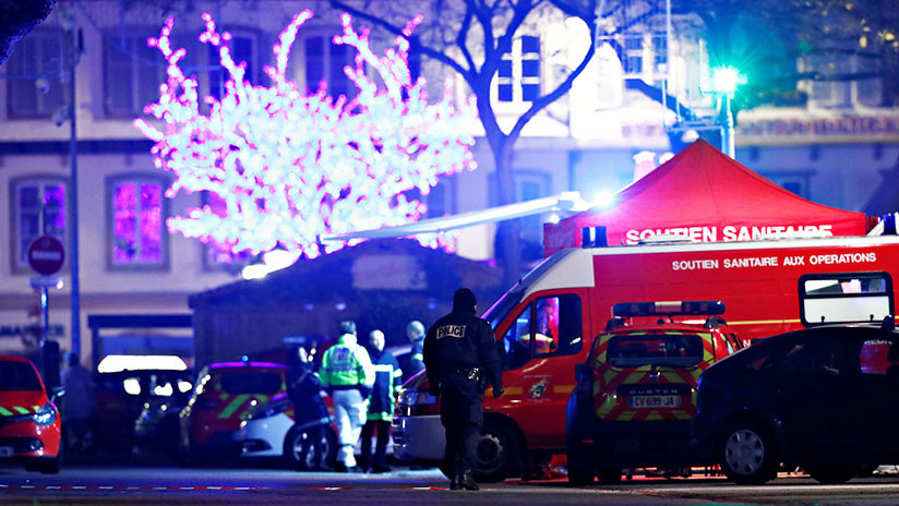 Ascienden a 13 los heridos en el tiroteo en Estrasburgo