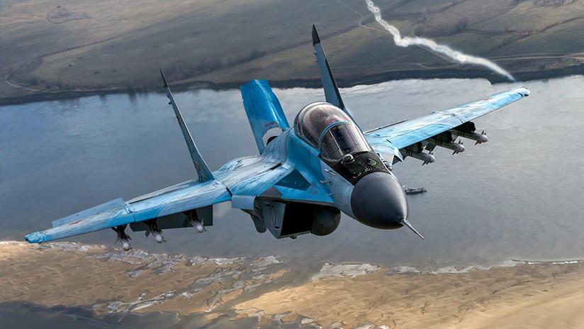 VIDEO: Pilotos de la Fuerza Aérea rusa testean los primeros cazas MiG-35 modernizados