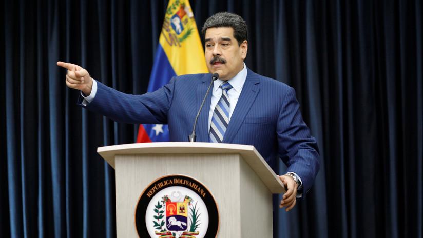 """Maduro: """"El presidente de Colombia no va ni al baño sin que lo sepa el embajador de EE.UU."""""""
