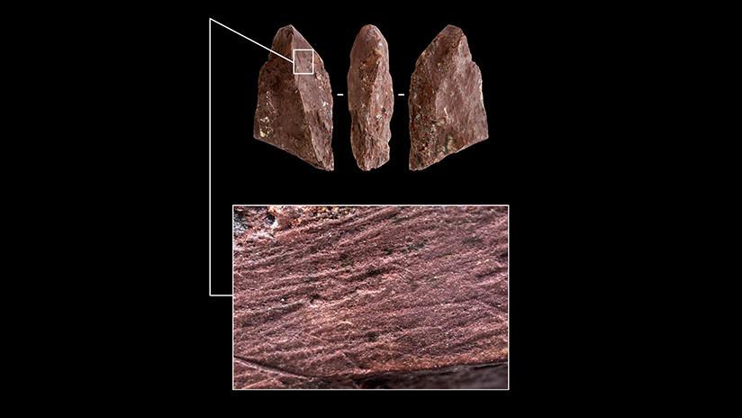 Hallan un 'lápiz' de hace casi 50.000 años en una cueva en Rusia