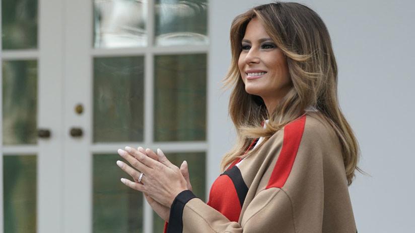 Ni Trump reconocerá a Melania; se pintó el cabello de rubio