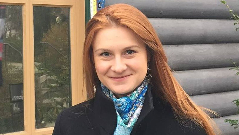 EE.UU.: La rusa María Bútina se declara culpable de conspirar para actuar como agente extranjera