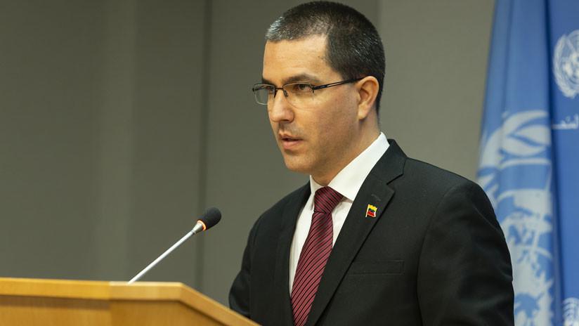 """Canciller Arreaza: Venezuela dará """"la madre de todas las batallas"""" si es atacada"""