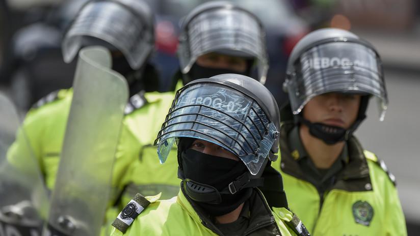 VIDEOS: Policía colombiana reprime con balas de goma manifestación estudiantil en Bogotá