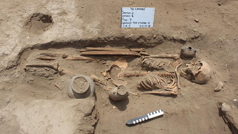 FOTOS: Hallan en Perú un antiguo cementerio con cuerpos amputados en un ritual preincaico