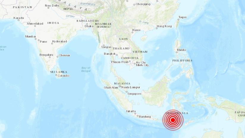 Sismo de 6,1 grados en Indonesia y otro moderado en Chile