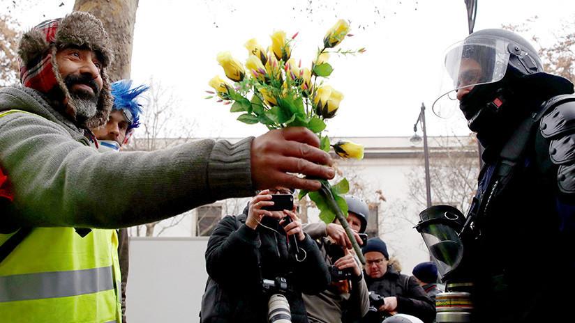 """""""La redacción me exige sangre"""": La BBC busca la 'injerencia rusa' en las protestas en Francia"""