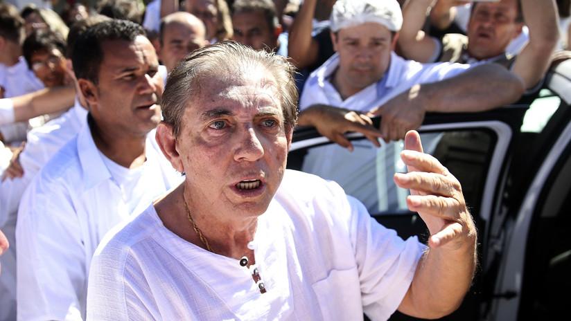 Brasil: El curandero João de Deus, acusado de 300 abusos sexuales, se entrega a la Policía
