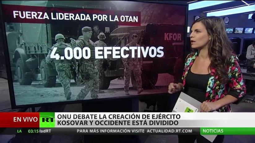 La ONU debate la creación de un Ejército en Kosovo y Occidente está dividido