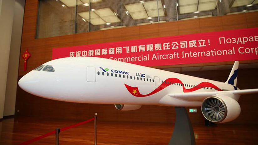 El ambicioso proyecto de avión de pasajeros ruso-chino CR929