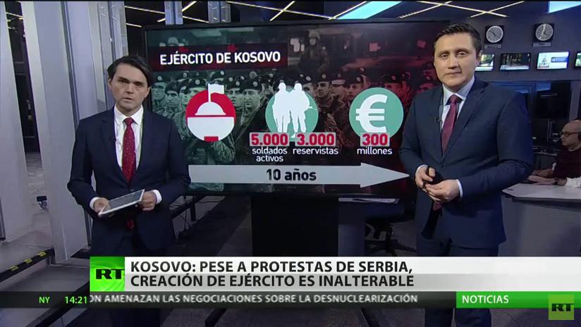 La ONU debate, a petición de Serbia, la creación del Ejército kosovar