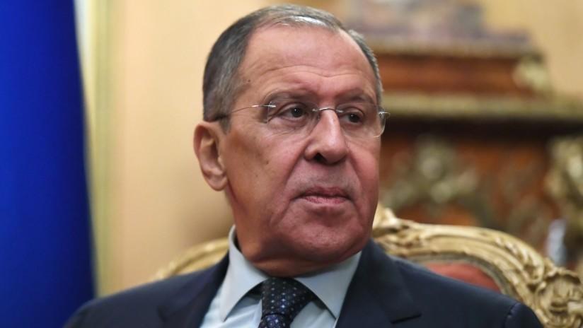 """Lavrov: """"Se exacerban unas tensiones sin precedentes, vemos colapsar tratados internacionales"""""""