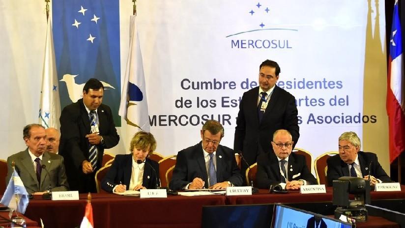 Se firma memorando comercial entre el Mercosur y la Unión Económica Euroasiática