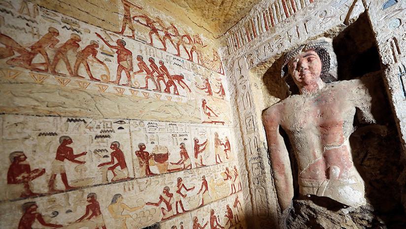Hallan en Egipto una tumba de 4.400 años: ¿Es tan importante como la de Tutankamón?