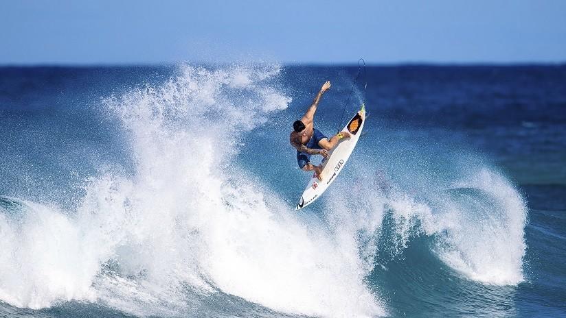 VIDEO: Un surfista reclama el récord mundial tras remontar una ola de 30 metros