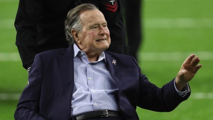 FOTOS: George H.W. Bush apadrinó a un niño filipino en secreto
