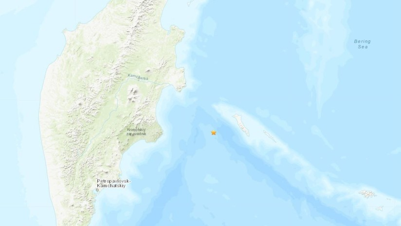Un potente terremoto de magnitud 7,4 sacude Kamchatka, en el Lejano Oriente ruso