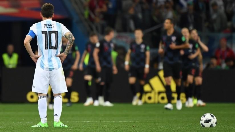 Revelan el regalo que hizo Messi durante el Mundial de Rusia a uno de los verdugos de Argentina