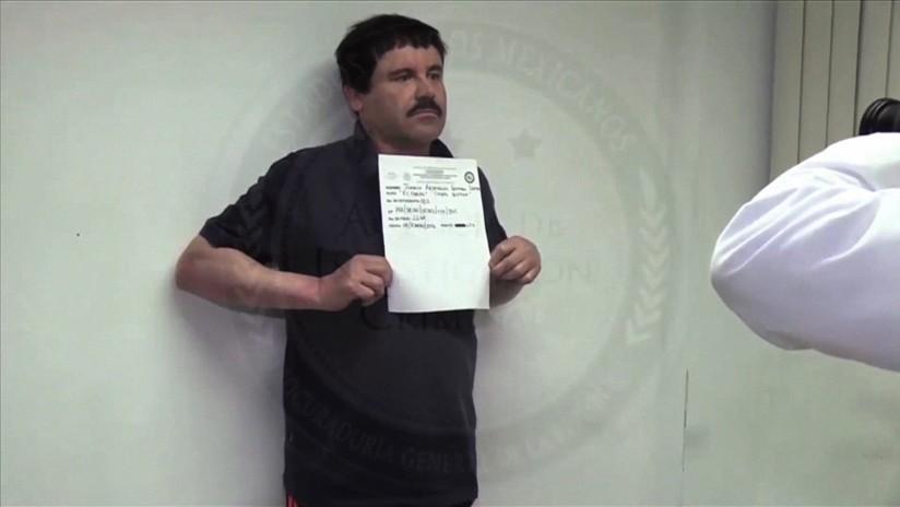 'El Chapo' recibe visita de sus hijas en juicio y se emociona hasta las lágrimas
