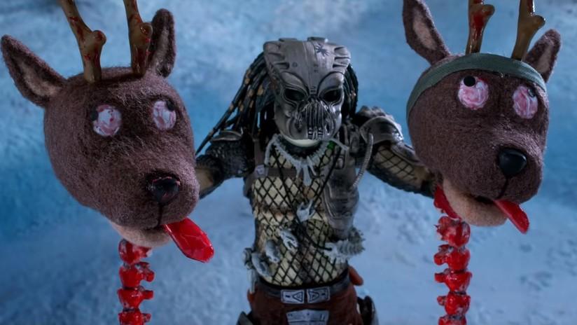 Cortometraje navideño de Papá Noel contra 'El Depredador'