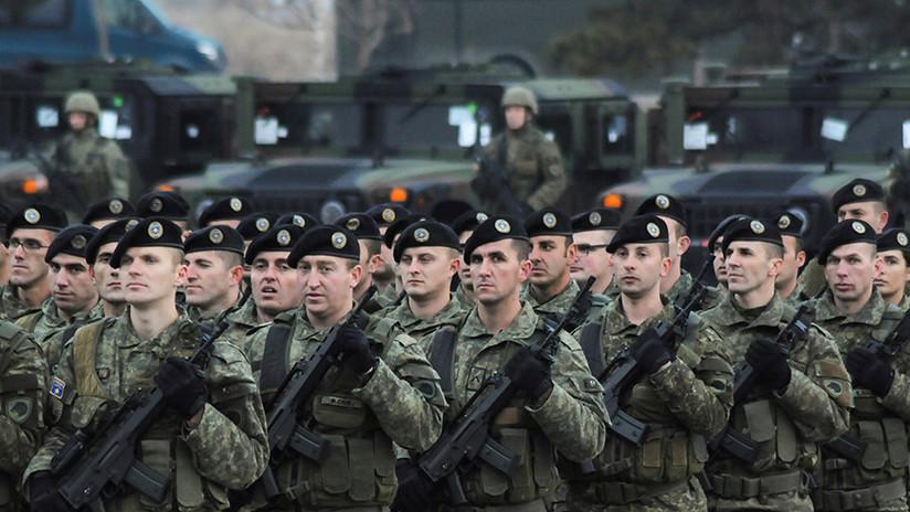 EE.UU. enciende la mecha en los Balcanes: El Ejército Kosovar