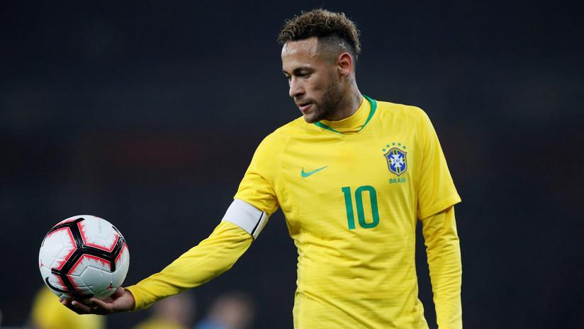 Neymar y su extravagante nuevo look