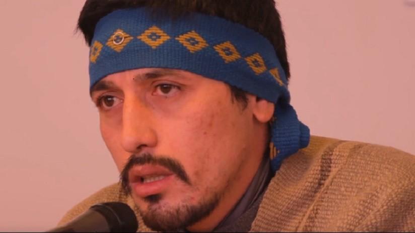 Justicia chilena condena a 9 años de cárcel al líder mapuche Facundo Jones Huala