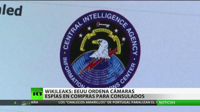 WikiLeaks: Sedes diplomáticas de EE.UU. solicitan cámaras espía en prendas de vestir