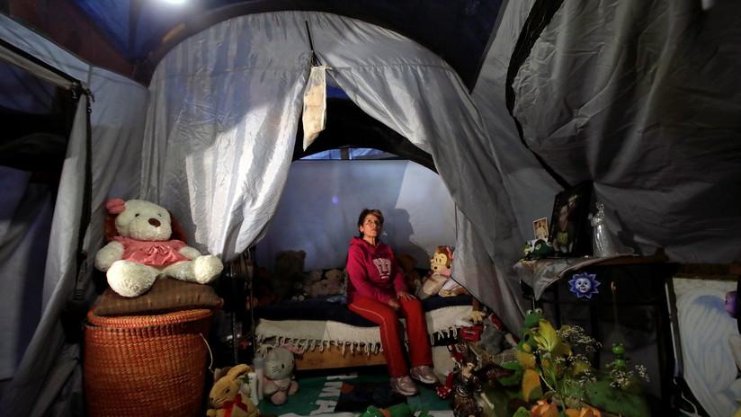 Otra navidad sin hogar: Los damnificados del sismo en México no renuncian a la alegría