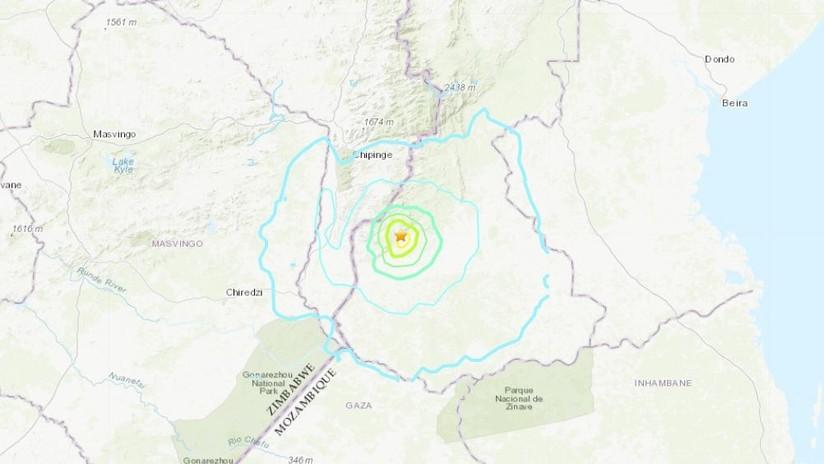 Un sismo de magnitud 5,5 sacude Zimbabue