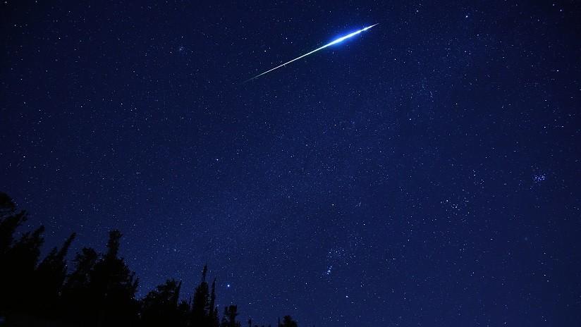 """""""Uno de los mayores eventos del año"""": Meteoro del tamaño de una nevera ilumina cielo de EEUU (VIDEO)"""