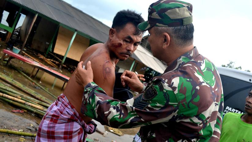 Las devastadoras consecuencias del tsunami en Indonesia