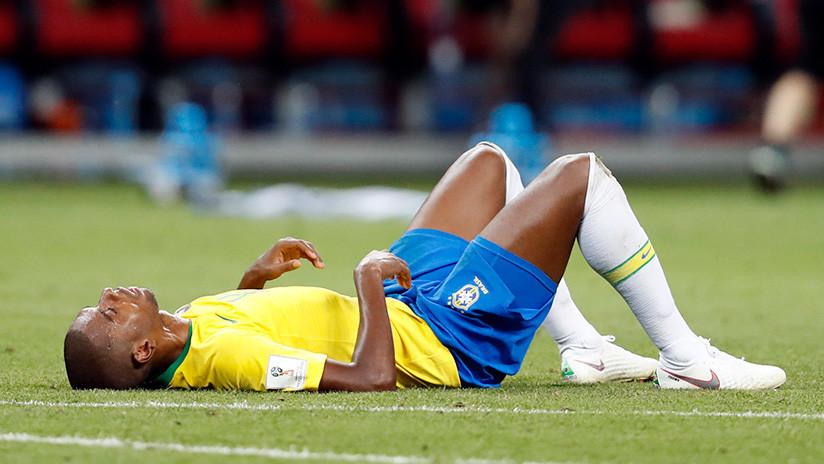 Fernandinho no quiere volver a la selección de Brasil tras su autogol en el Mundial 2018