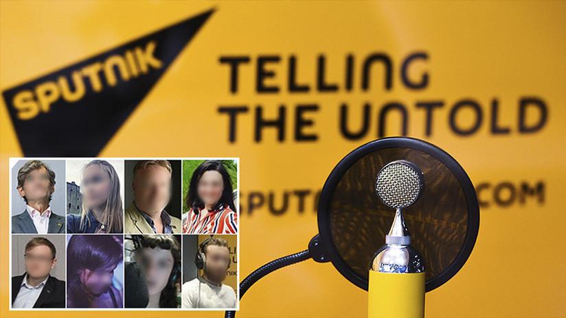 ¿Una lista negra?: The Times publica datos personales de empleados de Sputnik en Edimburgo