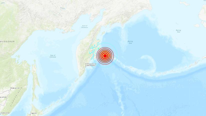 Terremoto de magnitud 6,4 golpea islas rusas en la región de Kamchatka