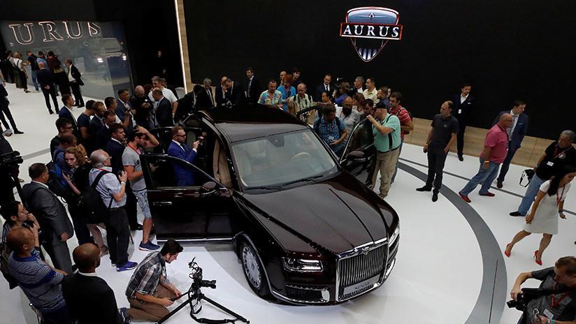 La producción en serie de los automóviles rusos Aurus arrancará en 2020