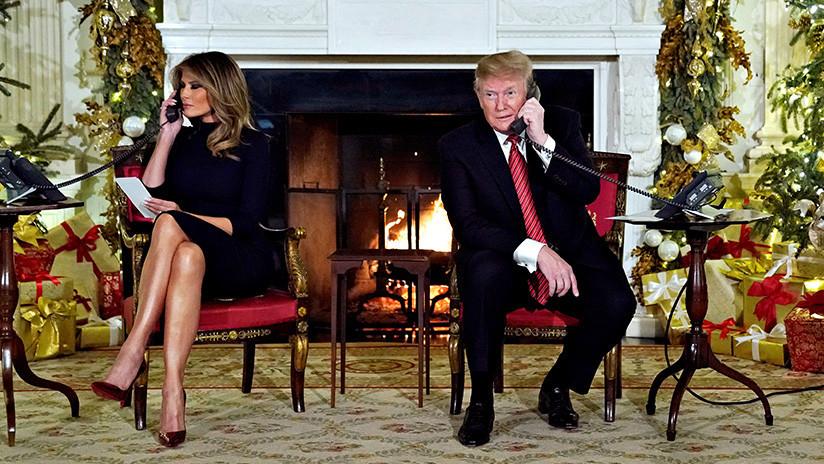 """VIDEO: Trump le dice a una niña de siete años que creer en Papá Noel a su edad es """"marginal"""""""