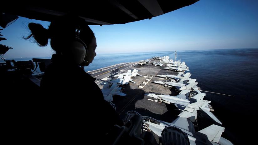 Sube la tensión en el golfo Pérsico con la llegada de un portaviones nuclear de EE.UU.