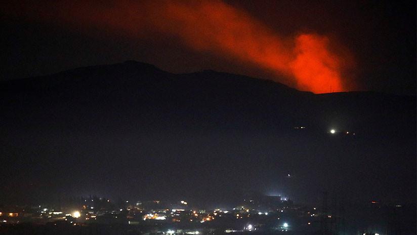 Ataque israelí contra Damasco: Tres militares heridos y la mayoría de los misiles derribados