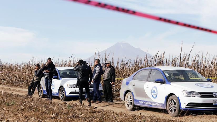 Gobierno mexicano descarta uso de explosivos en accidente de helicóptero en Puebla