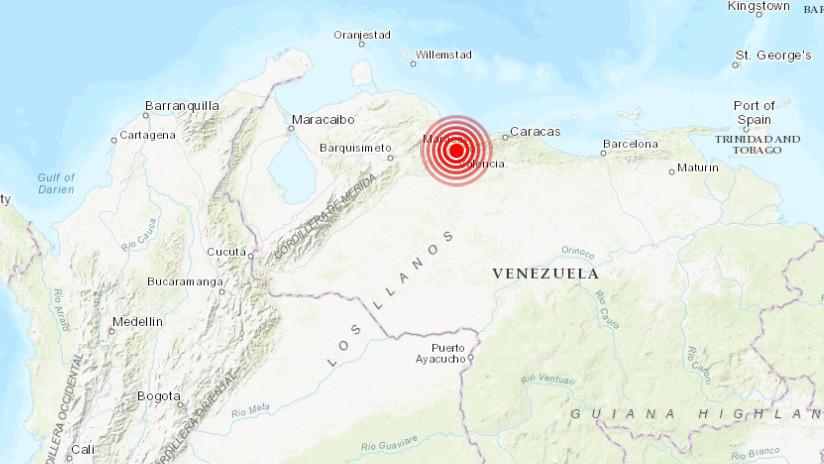 Un potente sismo sacude Caracas
